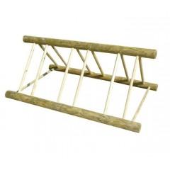 Rack à vélo en bois