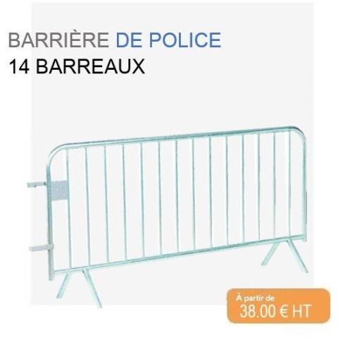 Barrière de police