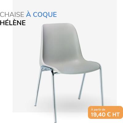 Chaise à coque Hélène