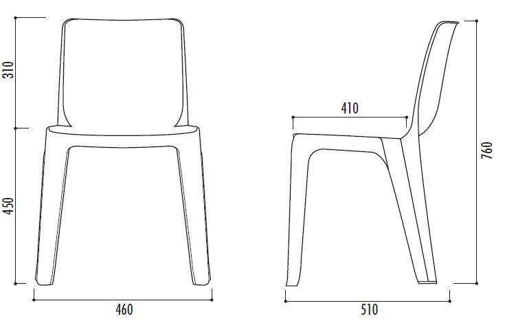 chaise monobloc en plastique de collectivit chaise monobloc en plastique denver. Black Bedroom Furniture Sets. Home Design Ideas