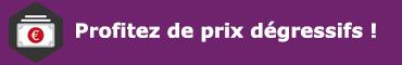 prix dégressifs pour les tables pliantes en polypro leader equipements