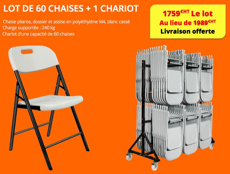 la chaise pliante great but chaise pliante chaise pliante elba code bmr chaise pliante blanche. Black Bedroom Furniture Sets. Home Design Ideas