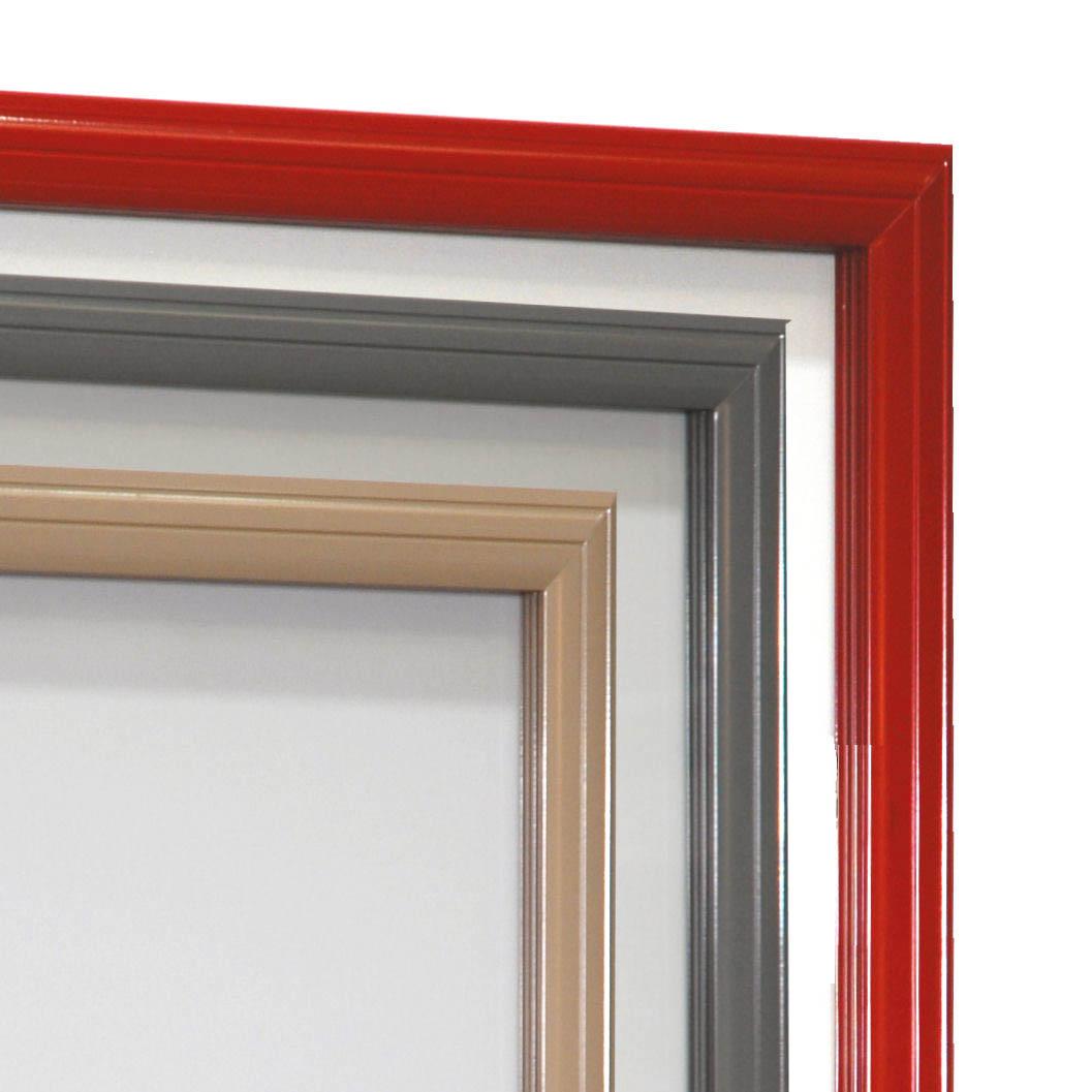 Coloris disponibles pour la vitrine d'affichage Reverso