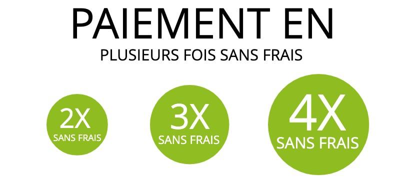 PAIEMENT EN PLUSIEURS FOIS SANS FRAIS - LEADER ÉQUIPEMENTS