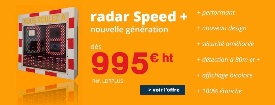 Radar Speed+